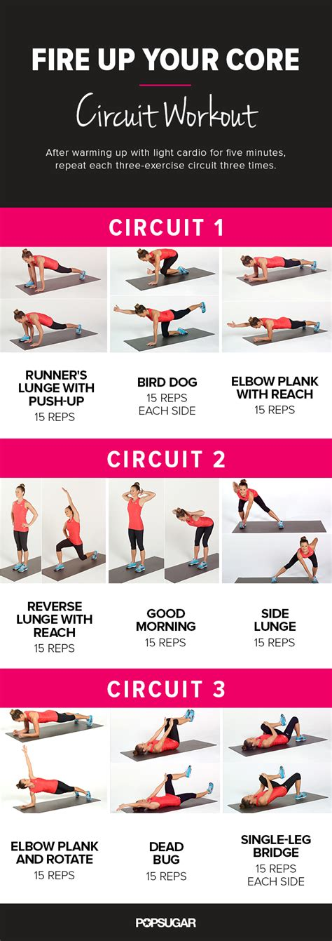 Galerry printable exercise workouts