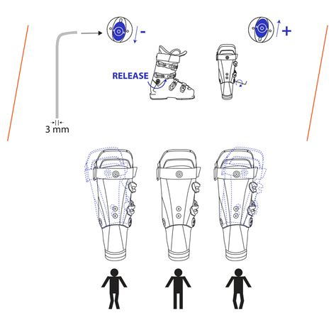 ski boot canting how to adjust the ski boot canting lange