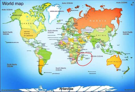 where is on the world map madagascar maps