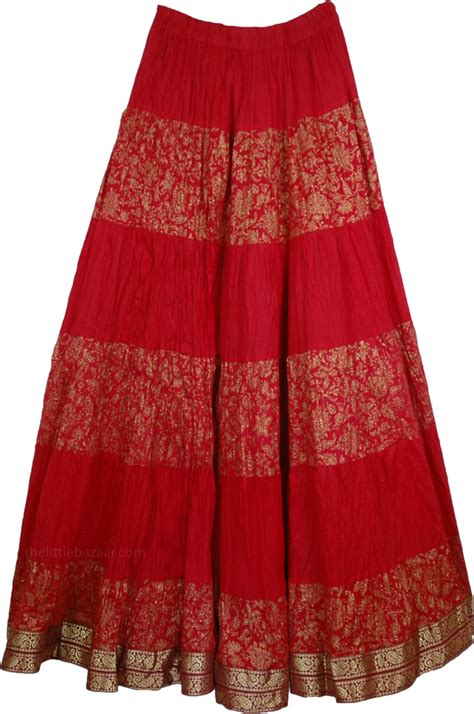 crinkle indian skirt clothing sale on bags