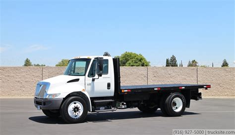 flat bed trucks flatbed truck for sale autos post