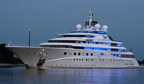 best boat names in history the german built mega yacht is not the biggest but is one