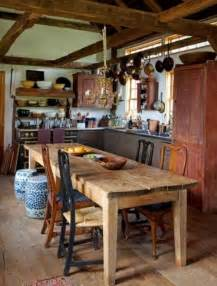 Farmers Dining Room Table la cuisine rustique style campagne en 21 exemples tables