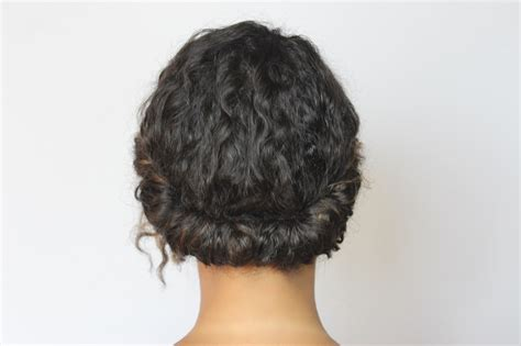 is it possibleto leave some hair out with crochet braids curly gibson tuck tutorial melting pot beauty
