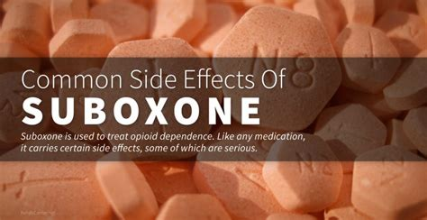Suboxone Detox Treatment Centers by Common Side Effects Of Suboxone