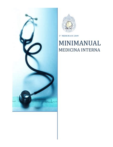 medicina interna mini manual de medicina interna