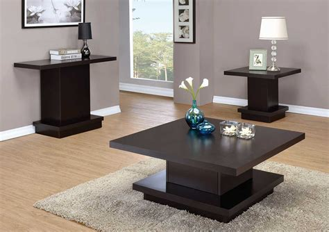 coaster company cappuccino coffee table coaster 705168 occasional coffee table set cappuccino