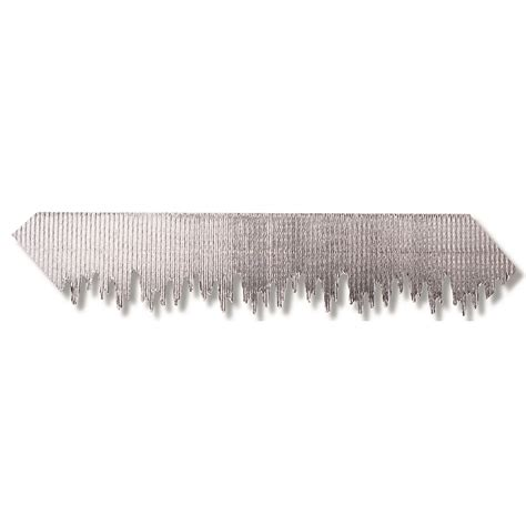 silver metallic icicles bordette corrugated bulletin