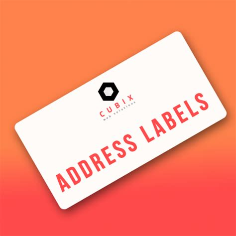 cubix address label printing magento connect
