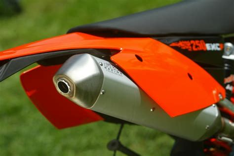 Motorrad Auspuff Eg Genehmigung by Ktm Offroad 2007 Testbericht