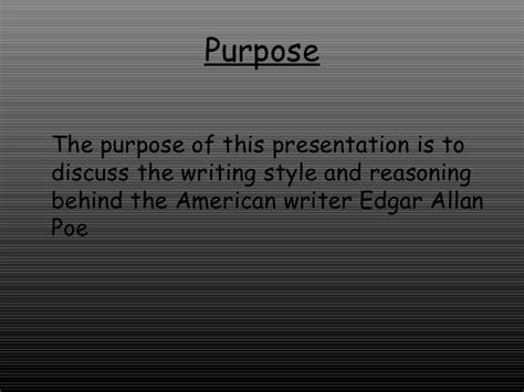 Research Papers Edgar Allan Poe by Edgar Allan Poe Research Paper Exle