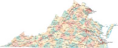 Map Virginia by Virginia Road Map Va Road Map Virginia Highway Map