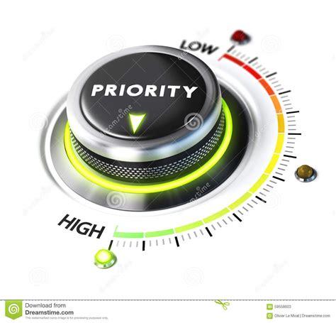 priority setter definition define high priority stock illustration illustration of