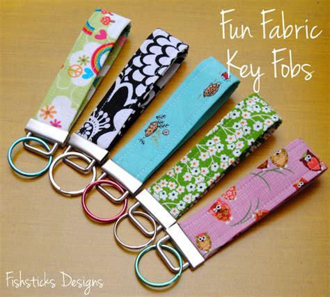 Handmade Days - fabric fobs for 12 days of handmade
