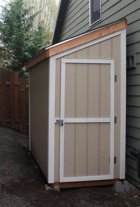 slant roof shed plans    shed detailed building