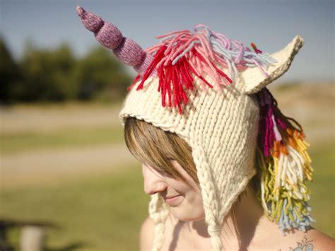 Free Knitting Pattern Unicorn Hat | knitting patterns galore unicorn hat