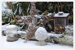 winter dekoration winter outdoor deko winterliche drau 223 en deko