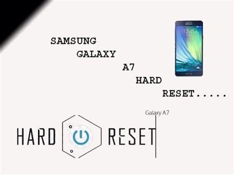 pattern unlock code reset samsung galaxy a7 hard reset or pattern unlock youtube