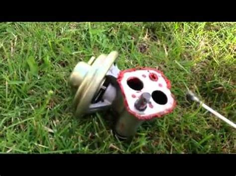 p0400 mitsubishi montero how to change clean your egr valve mitsubishi artrek