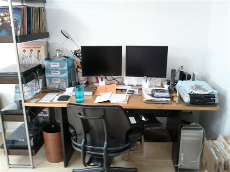 26 Cool Organized Office Desks Yvotube Com Organizing Office Desk