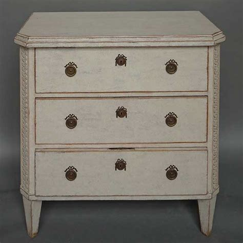 Chest Of Drawers Style by Simple Swedish Antique Neoclassical Style Chest Of Drawers