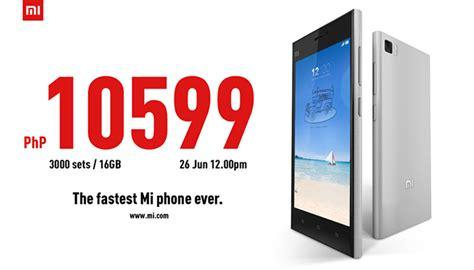 Hp China Xiaomi Mi3 xiaomi mi3 launch date pricing for the philippines announced gizchina