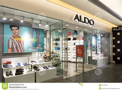 sneaker shops usa aldo store store editorial stock image image of empty
