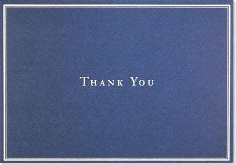 Navy Count Cards Template by Simple Thank You Blank Cards 36 Count Gray