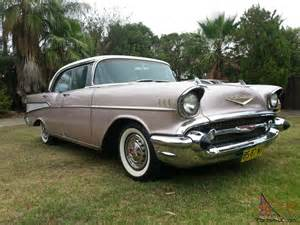1957 chevrolet bel air 4 door hardtop