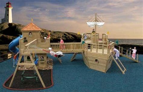backyard pirate ship pirate ship fort swing set play sets backyards and