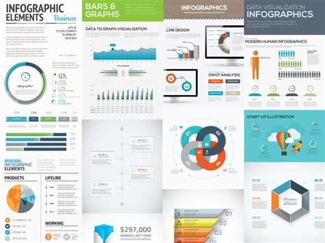 10 Free Infographic Templates For Adobe Illustrator Infographic Template Illustrator