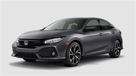 honda civic colors what are the 2018 honda civic hatchback color options