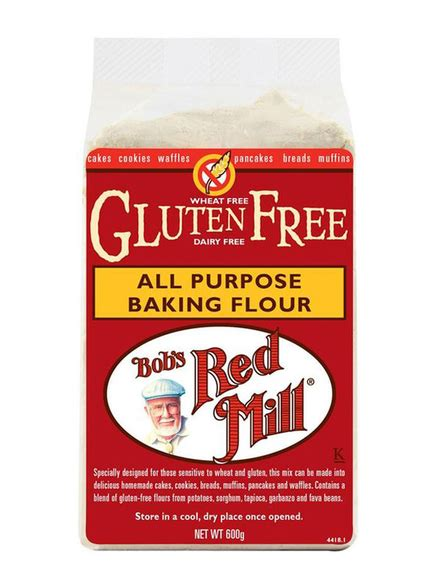 bobs red mill all purpose gluten free baking flour 22 all purpose baking flour gluten free 600g bob s red mill