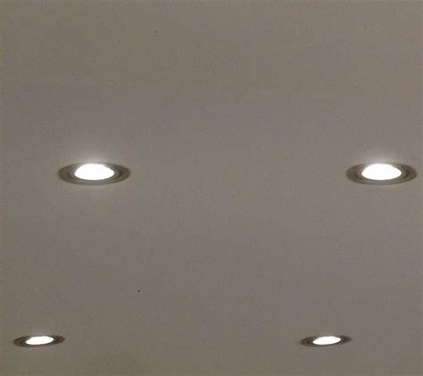 Lights On The Ceiling Installation Of Led Spotlights Tel 01472 752869