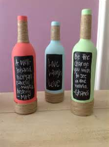painted wine bottles life a pinner