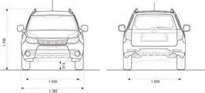 Subaru Forester Height Subaru Forester Dimensions 2017 Ototrends Net