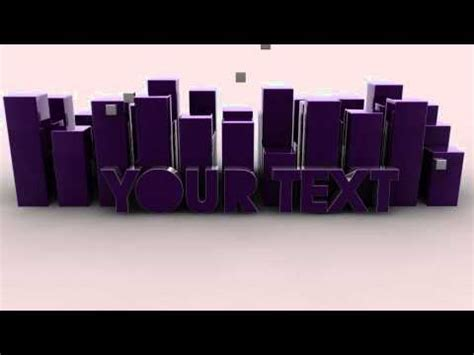 cinema 4d templates free cinema 4d free intro template c4d project file