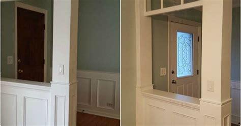 Make Your Own Front Door How To Make Your Own Decorative Glass Front Door Hometalk