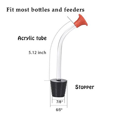 mudder hummingbird feeder tubes stoppers make your own