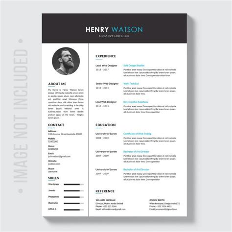 Resume Brochure Template For Free Download On Pngtree Resume Brochure Template