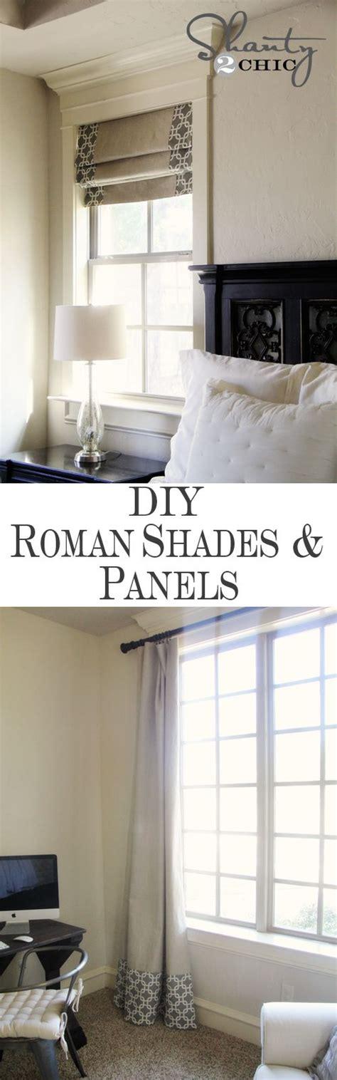 roman curtains diy windows diy shades and panels robert allen patterns
