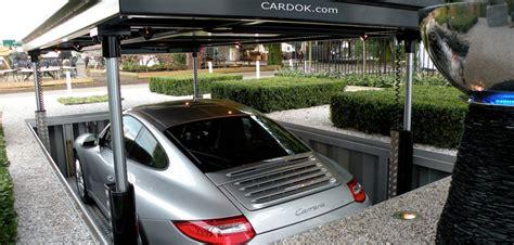 Garage Pop by Pop Up Garage Stows Your Car Safely Underground We Interrupt