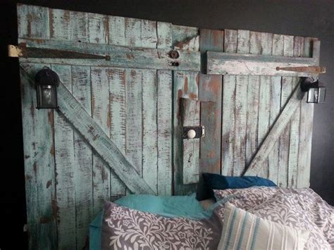 barn door headboard barn door headboard furniture all design doors ideas