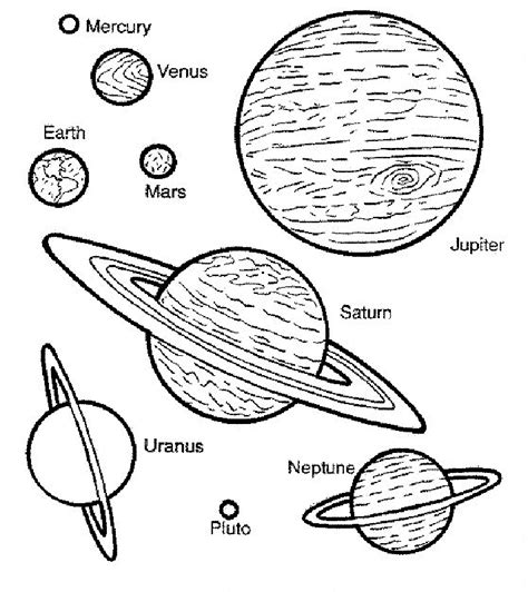 outer space coloring pages coloring home