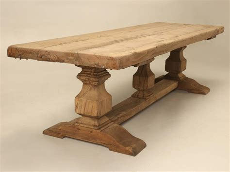 dining table made from vintage trestle antique dining table for sale at 1stdibs