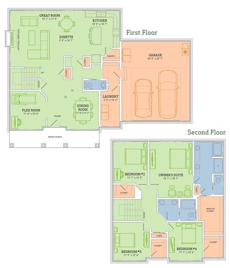 veridian homes floor plans the jackson home plan veridian homes