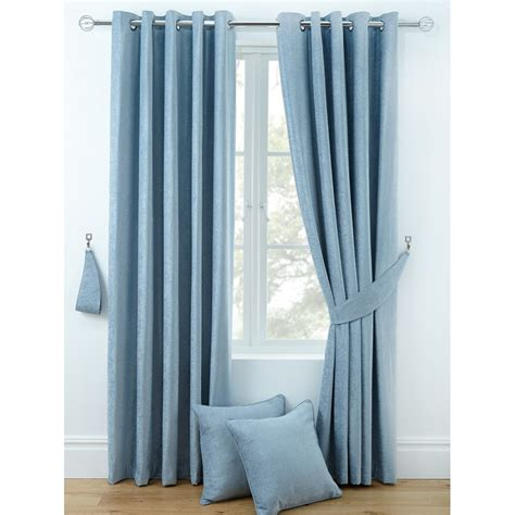 most popular curtains luxury chenille ring top curtains pair finished in