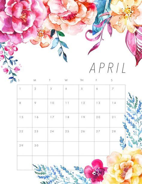 flower design kalender free printable 2018 floral calendar beautiful flowers