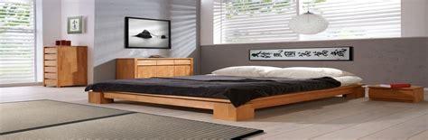 cadre lit futon cadre lit japonais housse canap 233 futon literie