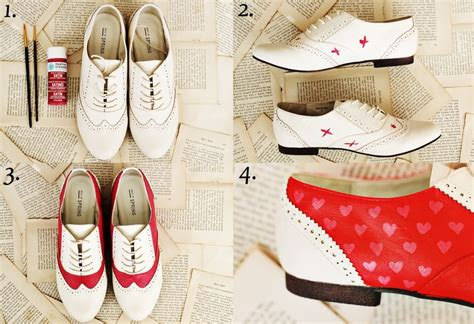 saddle shoes diy make your own saddle shoes a beautiful mess